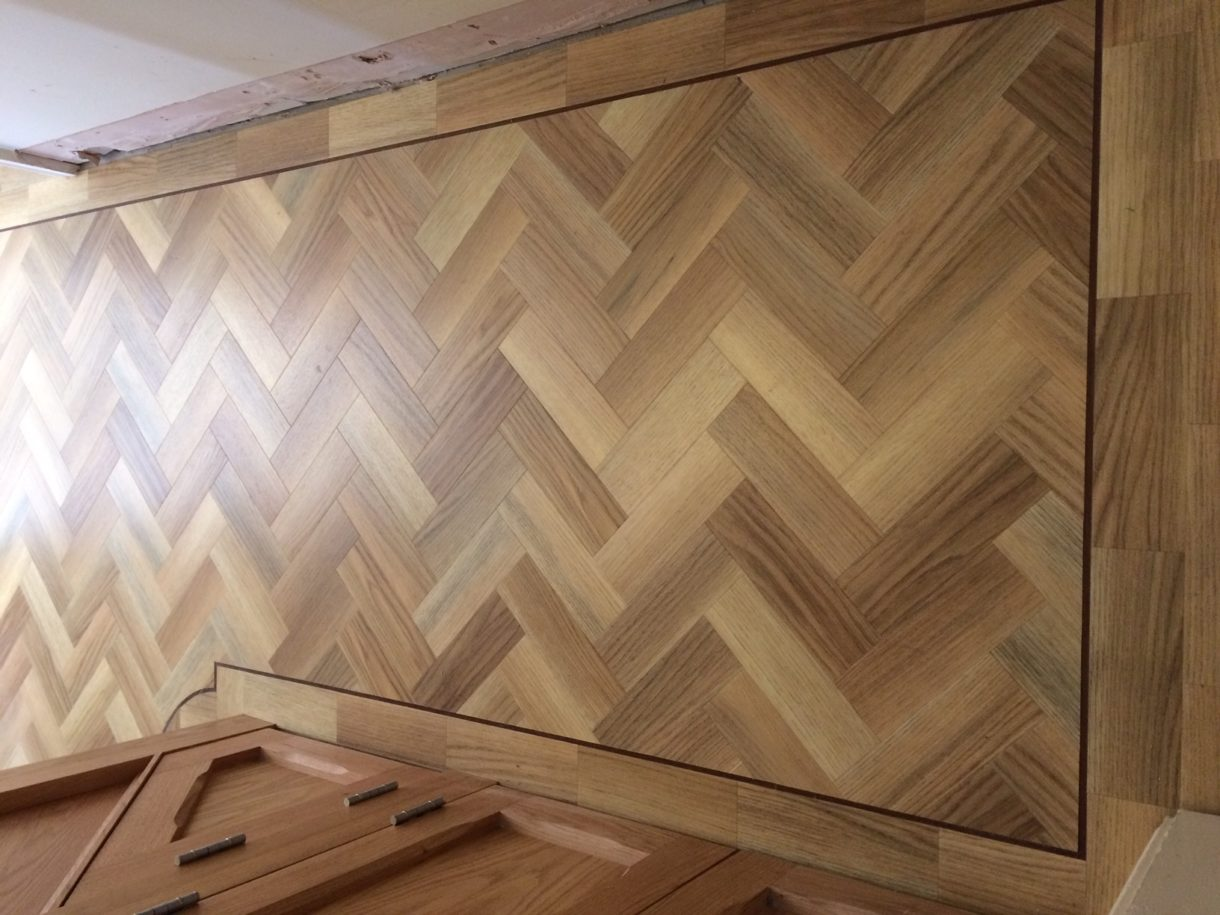Wooden flooring in Leamington